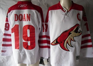 Phoenix Coyotes #19 Shane Doan White Jersey