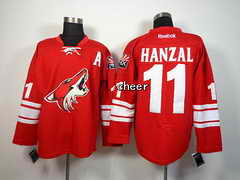 NHL Jersey Phoenix Coyotes #11 hanzal red Jersey