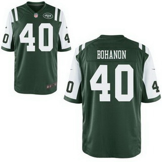 Men's New York Jets #40 Tommy Bohanon Green Team Color NFL Nike Elite Jersey