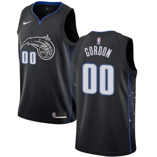 Nike Magic #00 Aaron Gordon Black NBA Swingman City Edition 2018-19 Jersey