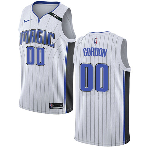 Nike Magic #00 Aaron Gordon White NBA Swingman Association Edition Jersey
