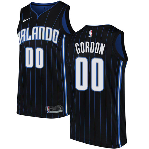 Nike Magic #00 Aaron Gordon Black NBA Swingman Association Edition Jersey