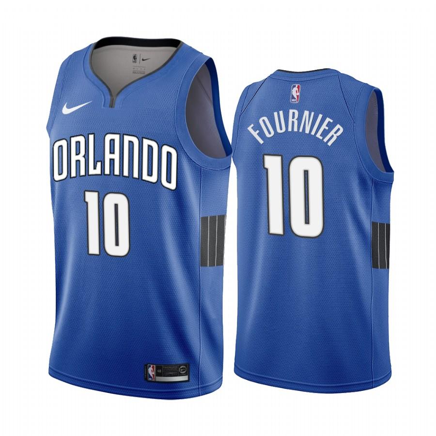 Nike Magic #10 Evan Fournier Blue 2019-20 Statement Edition NBA Jersey