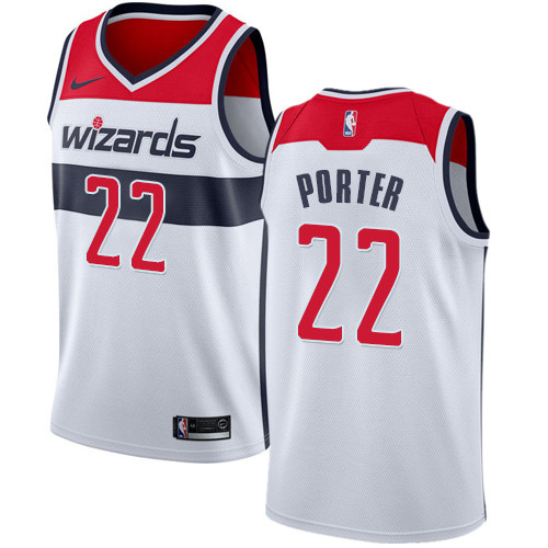 Nike Wizards #22 Otto Porter White NBA Swingman Association Edition Jersey