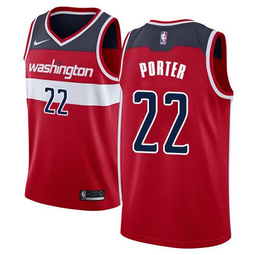 Nike Wizards #22 Otto Porter Red NBA Swingman Icon Edition Jersey