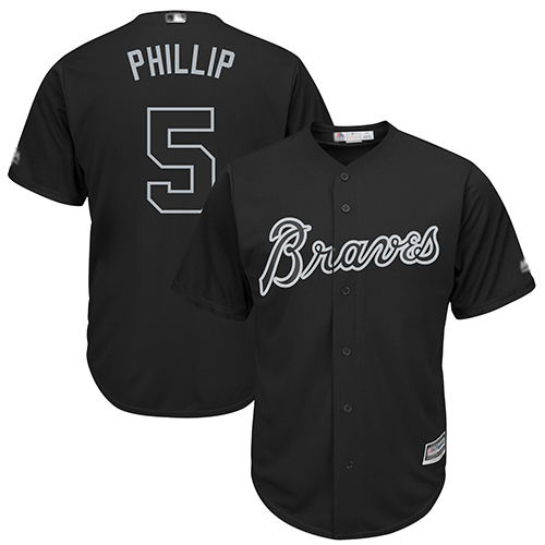 Braves #5 Freddie Freeman Black Phillip Players Weekend Cool